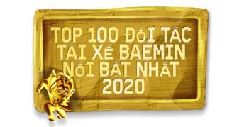 [HN] Lộ diện Top 100 Đối tác tài xế nổi bật năm 2020!