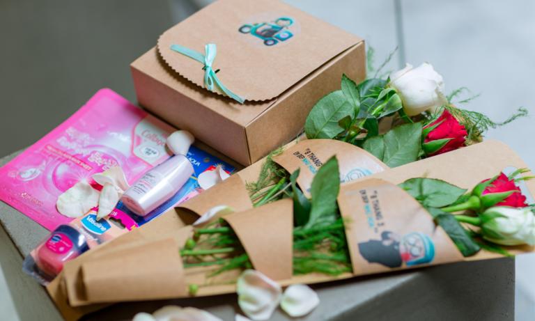 8 tháng 3 – ngập tràn quà và hoa tại Trung tâm Hỗ Trợ
