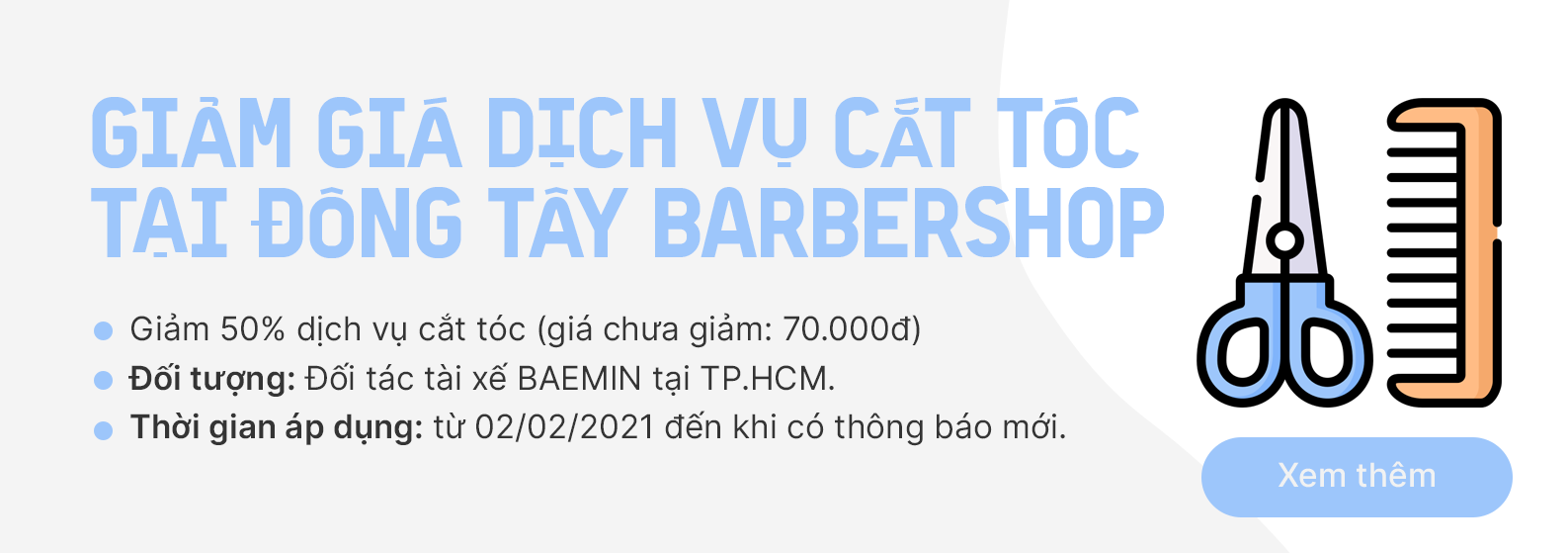 Benefit - Haircut
