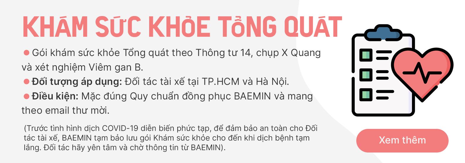 Benefit - Kham suc khoe
