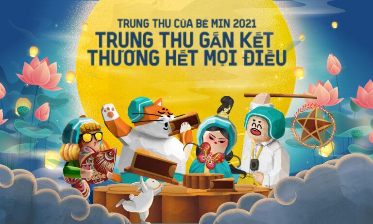 """BAEMIN khởi động """"Trung Thu Của Bé Min 2021"""" với chủ đề: """"Trung Thu Gắn Kết – Thương Hết Mọi Điều"""""""