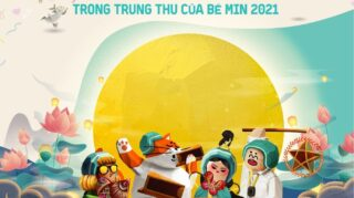Nhìn lại hành trình gắn kết để thương hết mọi điều trong Trung Thu của Bé Min 2021